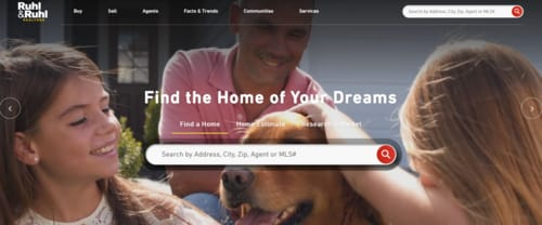 RuhlHomes.com Website Ranks Number 4 in the Nation