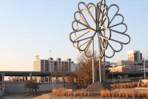 City of Cedar Rapids Tree of Five Seasons