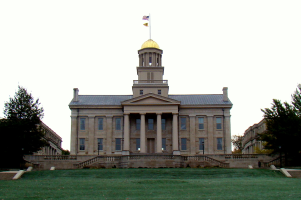 Old Capitol in Iowa City