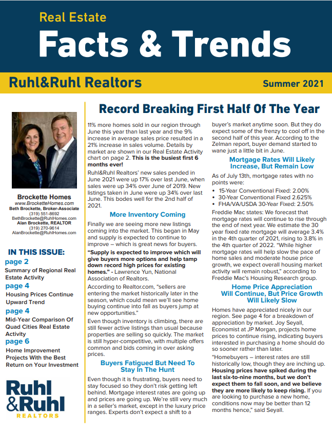 Cover of Fact and Trends Summer 21 Edition